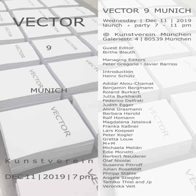 Vector 9 Einladung