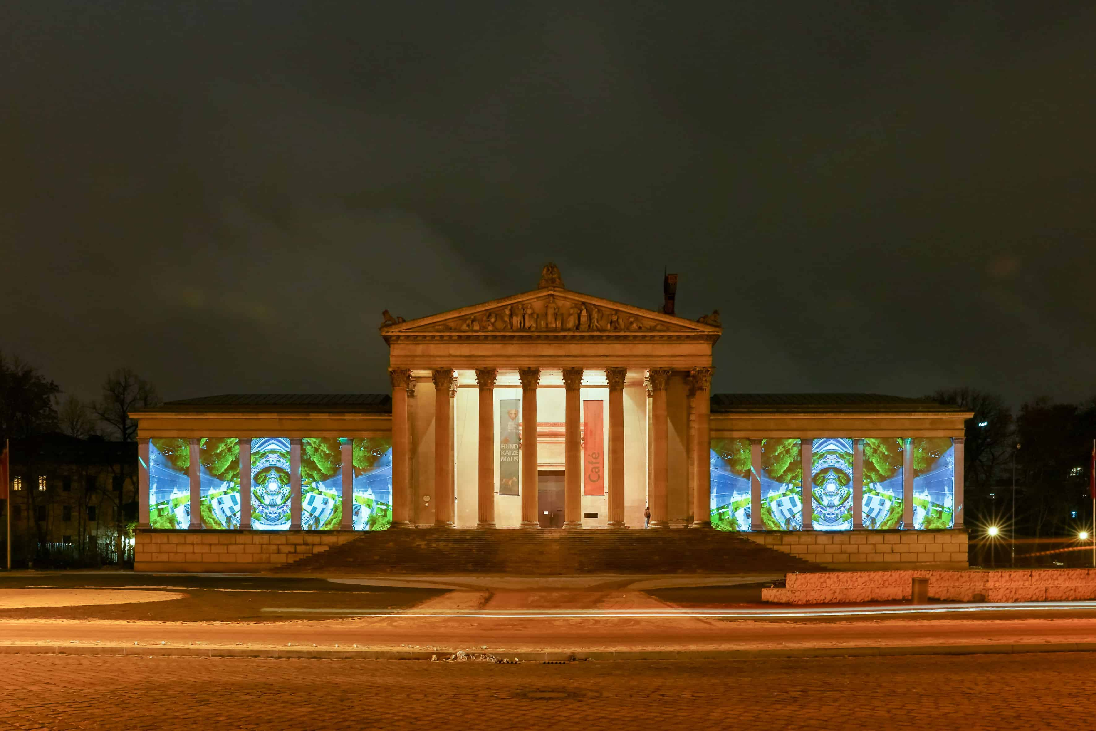 The Munich Museum District Shines Bright