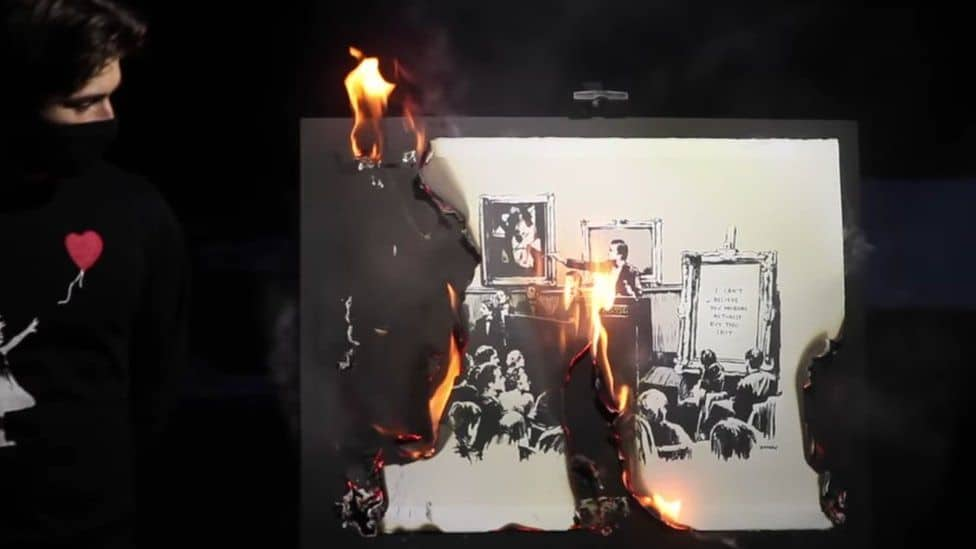 banksy-burned-
